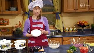 Салат из помидоров с цветной капустой и соус «Ароматный» | Простые видео рецепты здорового питания