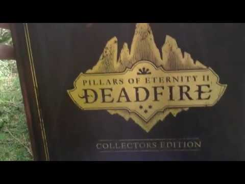 Pillars of Eternity II Deadfire Signed Collectors Edition Unboxing (PC) ENGLISH