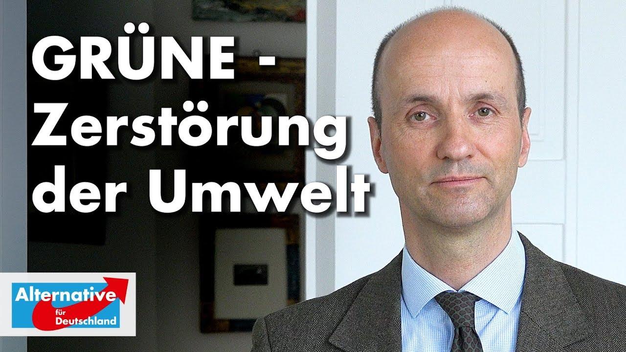 Nicolaus Fest zu GRÜNER Umweltzerstörung