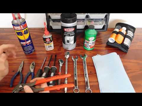 How to Clean Your Tools!!!