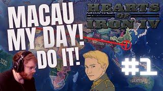 Go Ahead, Macau My Day in HOI4 - Achievement Challenge #1