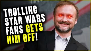 Rian Johnson used THE LAST JEDI rage in KNIVES OUT