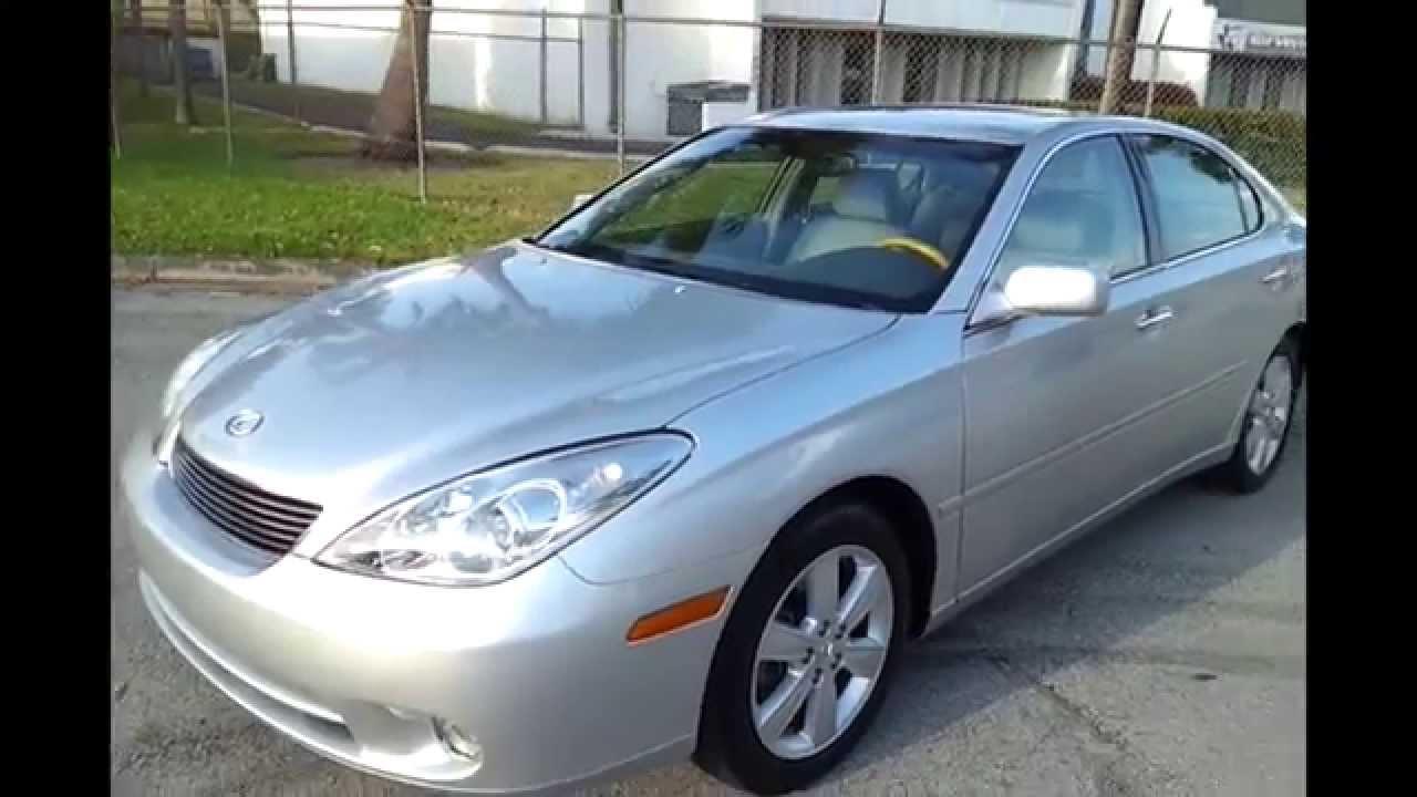 FOR SALE 2006 Lexus ES 330 Sedan WWW.SOUTHEASTCARSALES.NET   YouTube
