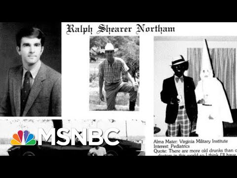 Gov. Northam Apologizes For His Yearbook Page Showing Blackface, KKK Hood | Hardball | MSNBC