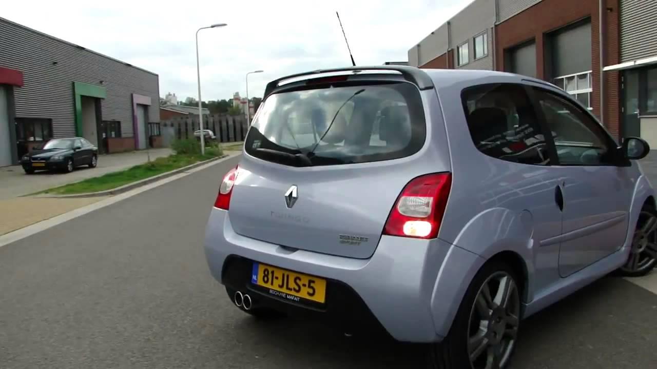 Renault Twingo Doppelrohr Edelstahl Sportauspuff Massgeschneidert
