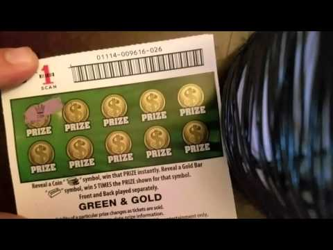 50,000 Green & Gold!!! WINNER?? Oregon Lottery Scratch Ticket!