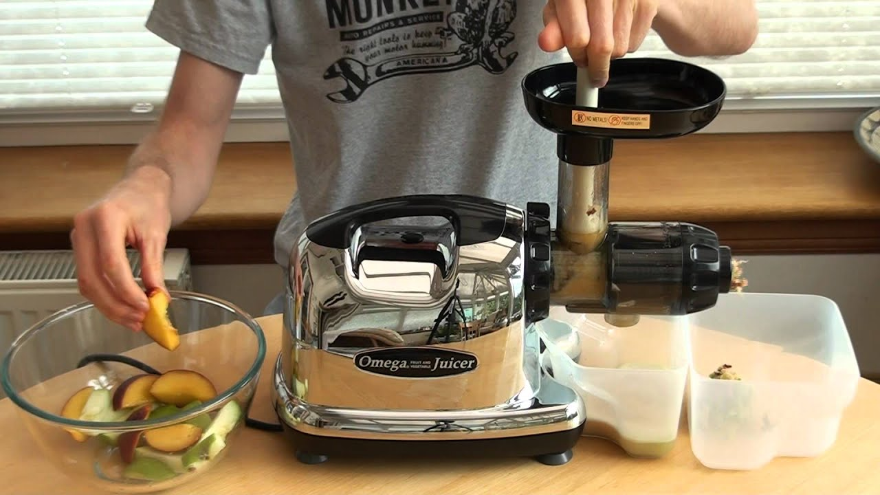 juicing nectarines with an omega j8006