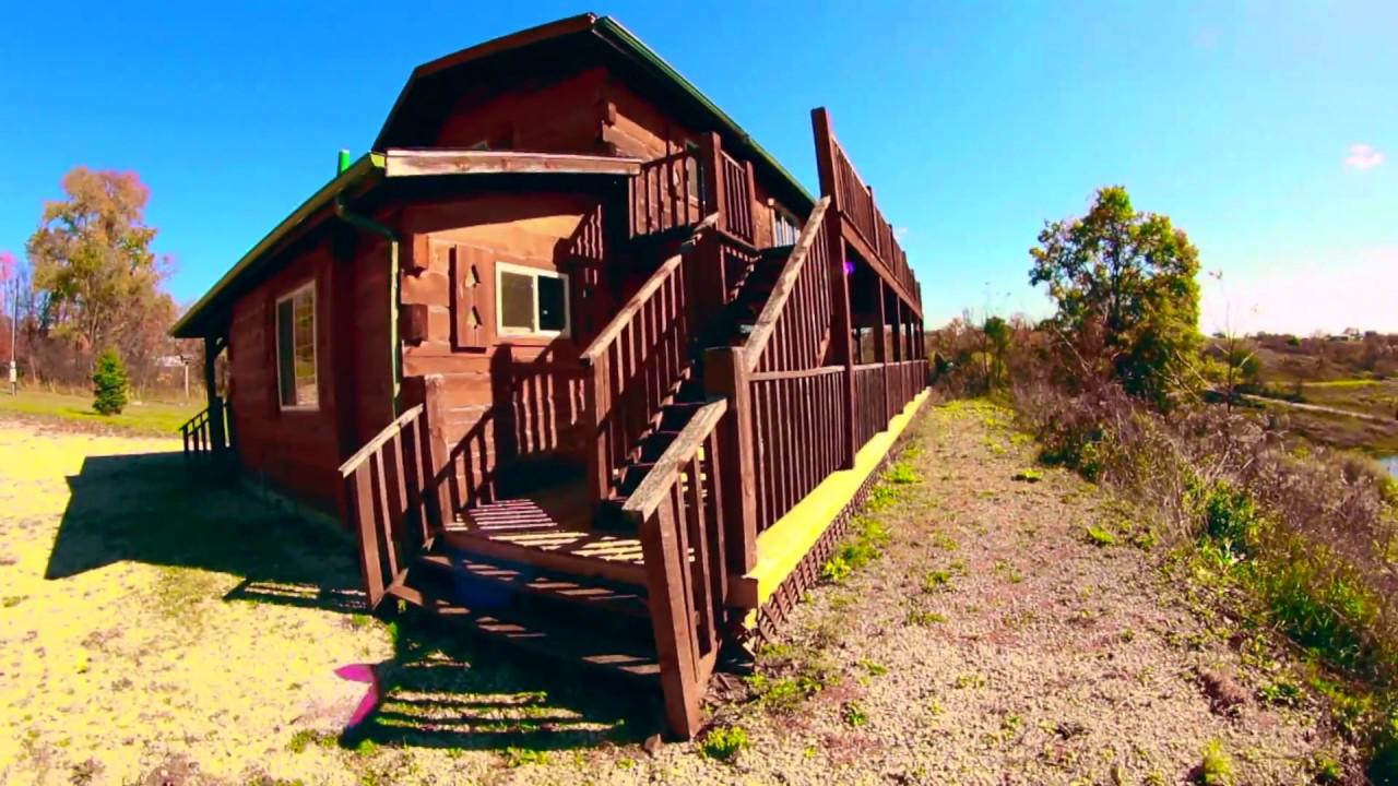 Sunset Ridge Log Cabin With Iowa Cabin Rentals