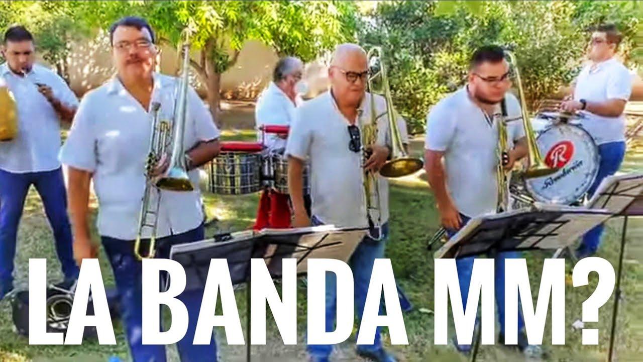 Si existiera La Banda MM así sonaria 👌🥁🎺🎼(tema Veracruz)