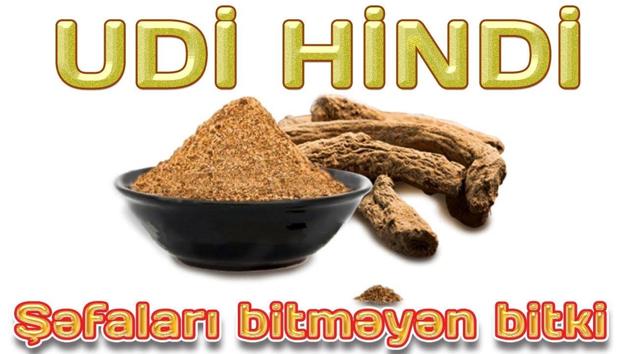 UDİ HİNDİ - ŞƏFALARI BİTMƏYƏN BİTKİ - YouTube