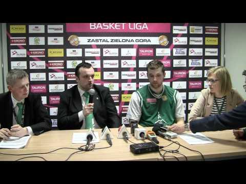 Mihailo Uvalin i Piotr Stelmach po drugim meczu play off z Czarnymi