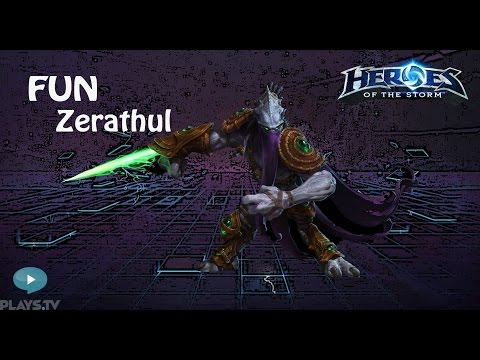 видео: heroes of the storm: top 1 eu (16 выпуск) - Зератул