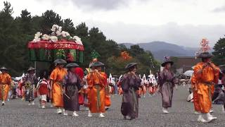 Festival in Kyoto. parade of Historical costumes partNo3 時代祭の中...