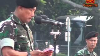 Penyematan Brevet dan Jaket Kepada Pemred dan Wartawan Senior Hankam Berbagai Media