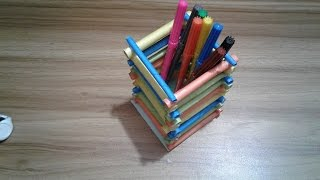 Amazing pen stand with paper - Creative ideas