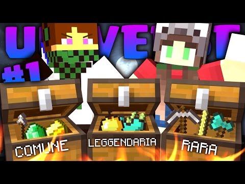 APRIAMO CHEST LEGGENDARIE! - Minecraft ITA UNIVERSE EP.1 W/KeNoia