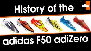 History of the adidas f50 adizero