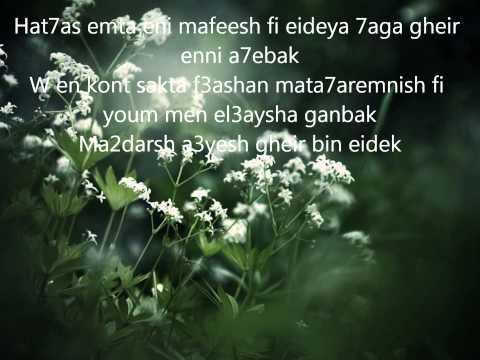 Elissa T3abt mennak lyrics - اليسا تعبت منك مع الكلمات