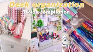DESK ORGANIZATION ✏ || back to school || TikTok compilation