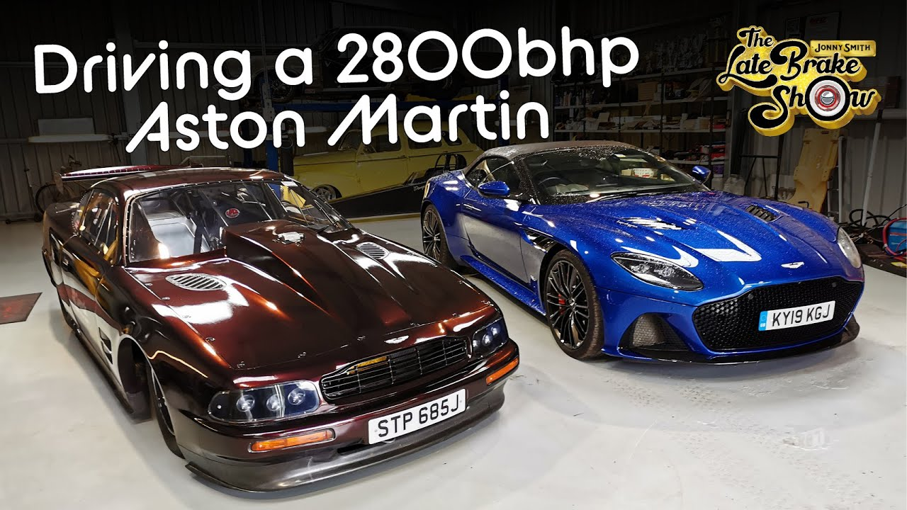 Driving The World S Fastest Aston Martin 2800bhp And Street Legal Youtube