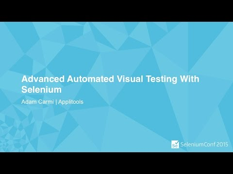 Advanced Automated Visual Testing With Selenium -