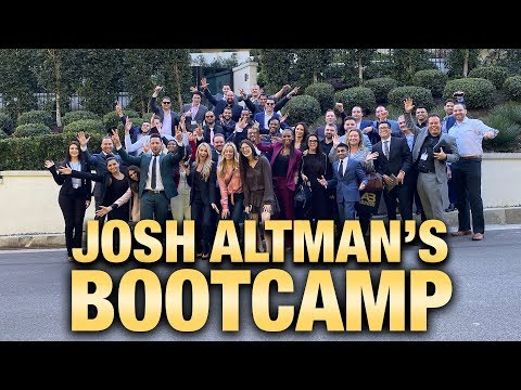 JOSH ALTMAN BOOTCAMP | REAL ESTATE | EPISODE #41