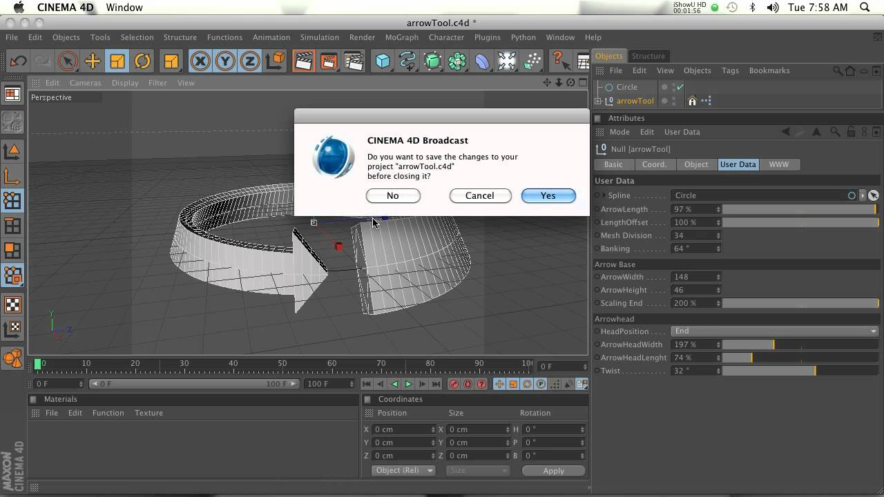 Arrows in cinema 4d youtube for Cinema 4d raumgestaltung