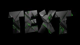 Урок:Как сделать красивый текст в Cinema 4D