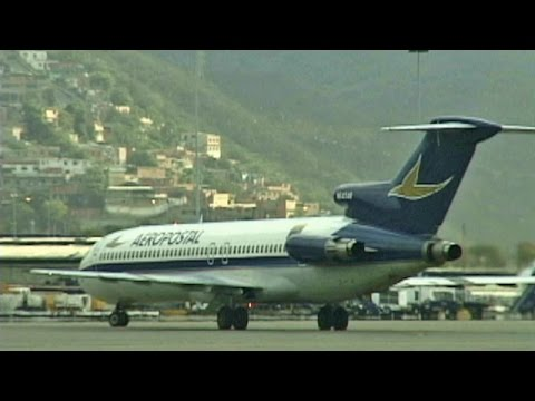 Boeing 727 Caracas to Aruba (2002)