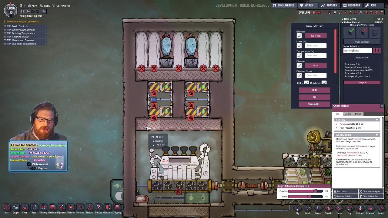 EASY STEAM TURBINE (with save file!) - Oxygen Not Included (Occupational  Upgrade)