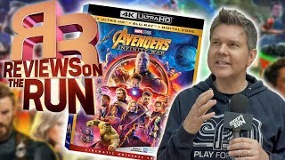 The Best 4K Blu Ray Ever!? -  Avengers: Infinty War Review - Electric Playground