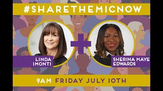 #SharetheMicNow: Mindset Matters: Creating a Tone From the Top that is Inclusive of Black Women.