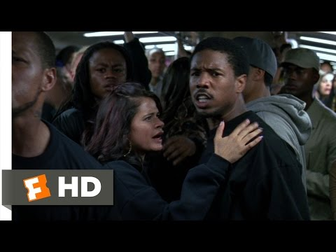 Fruitvale Station (10/10) Movie CLIP - Fight on the Subway (2013) HD