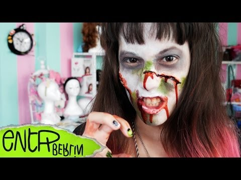 Halloween DIY - How to become a ZOMBIE! // Candy Trips