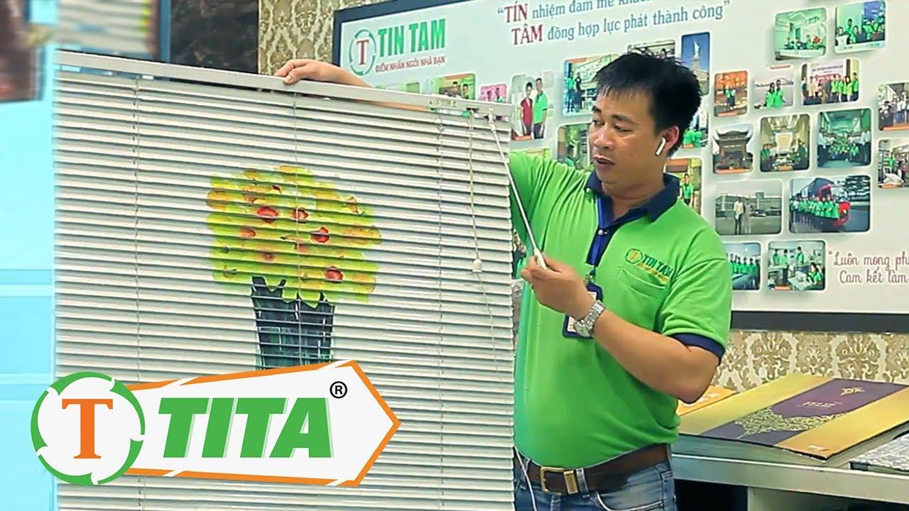 Cách sử dụng và Cách Lắp Ráp Mành Rèm Sáo Nhôm cho Cửa Sổ www.tintam.vn
