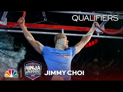 Jimmy Choi at the Indianapolis City Qualifiers - American Ninja Warrior