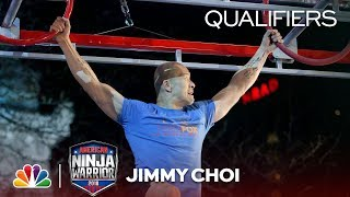 Jimmy Choi at the Indianapolis City Qualifiers - American Ninja Warrior 2018