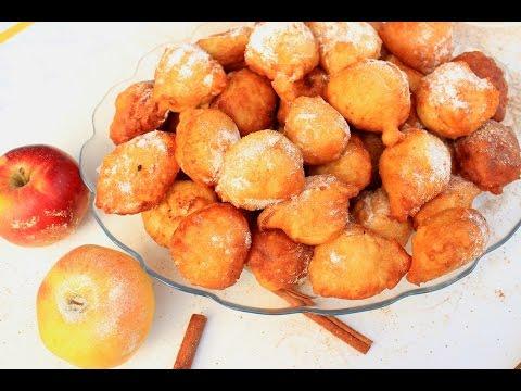 Uštipci s jabukama - Apple Fritter Recipe