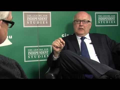 George Brandis Interview on Human Rights