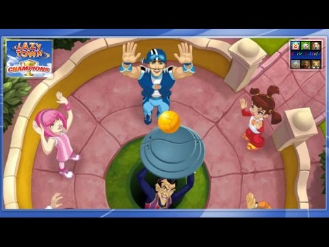 Lazy Town: Champions - Volleyball | Stingy,  Sportacus ... Robbie Rotten | |