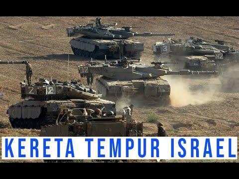 MERKAVA ISRAEL TANK PALING DISEGANI DI TIMUR TENGAH