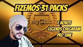 31 Packs e Novos Legends Pro Time