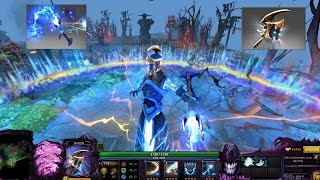 Dota 2 Razor Immortal Severing Lash with Golden Severing Crest