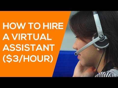 How to Hire a Virtual Assistant - How to Use Upwork & OnlineJobs.ph when Hiring VAs ($3/HOUR)