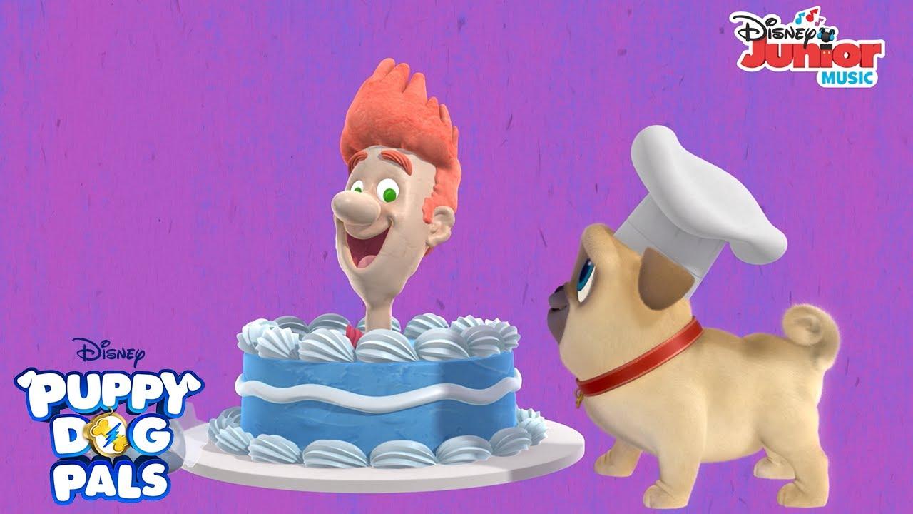 I Ve Got A Friend Named Bob Music Video Puppy Dog Pals Disney Junior Youtube