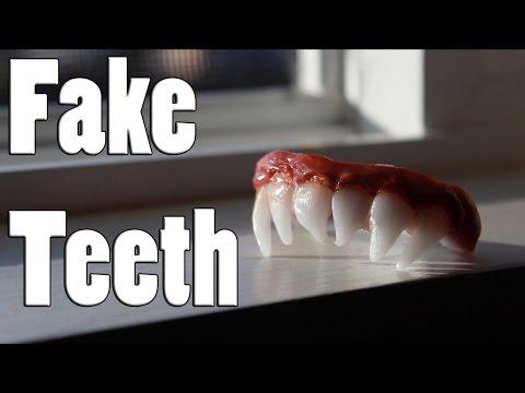 FAKE TEETH/DENTURE: TUTORIAL | NIGHT 3 - YouTube