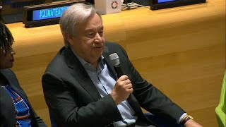 My generation until now has failed to preserve the planet – UN Chief
