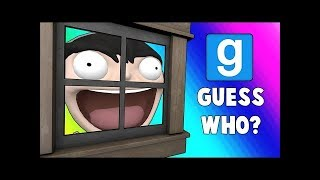VanossGaming - Gmod Guess Who Funny Moments   Try Hard House Hiding Spot!