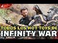 TODOS LOS HOT TOYS DE AVENGERS INFINITY WAR REVELADOS! IRON SPIDER ES INCREIBLE!