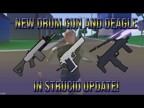 NEW DRUM GUN AND DEAGLE IN STRUCID WEAPON UPDATE!| 3 NEW ...